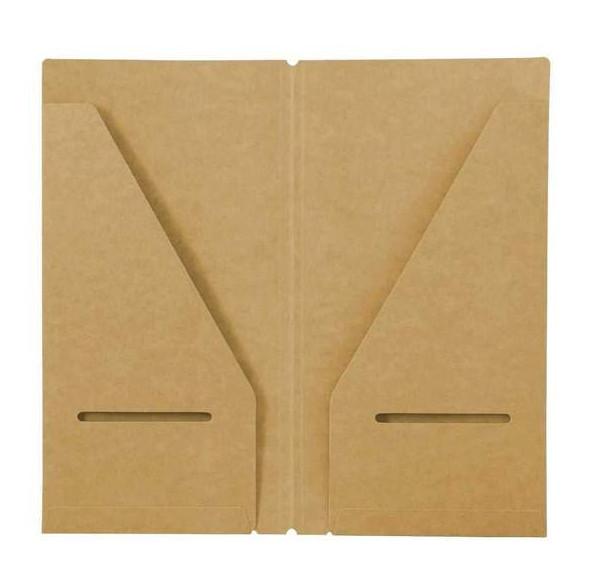 Kraft folder - Mở rộng lưu trữ cho sổ Traveler' Notebook