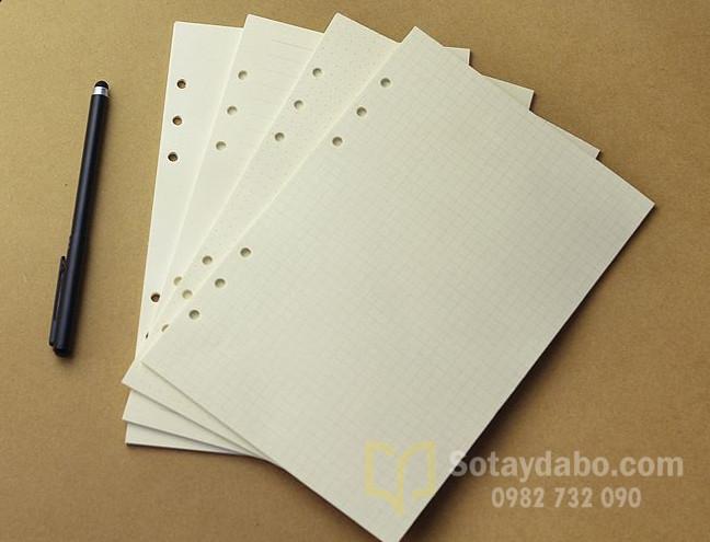 Lõi giấy thay thế cho sổ còng A5