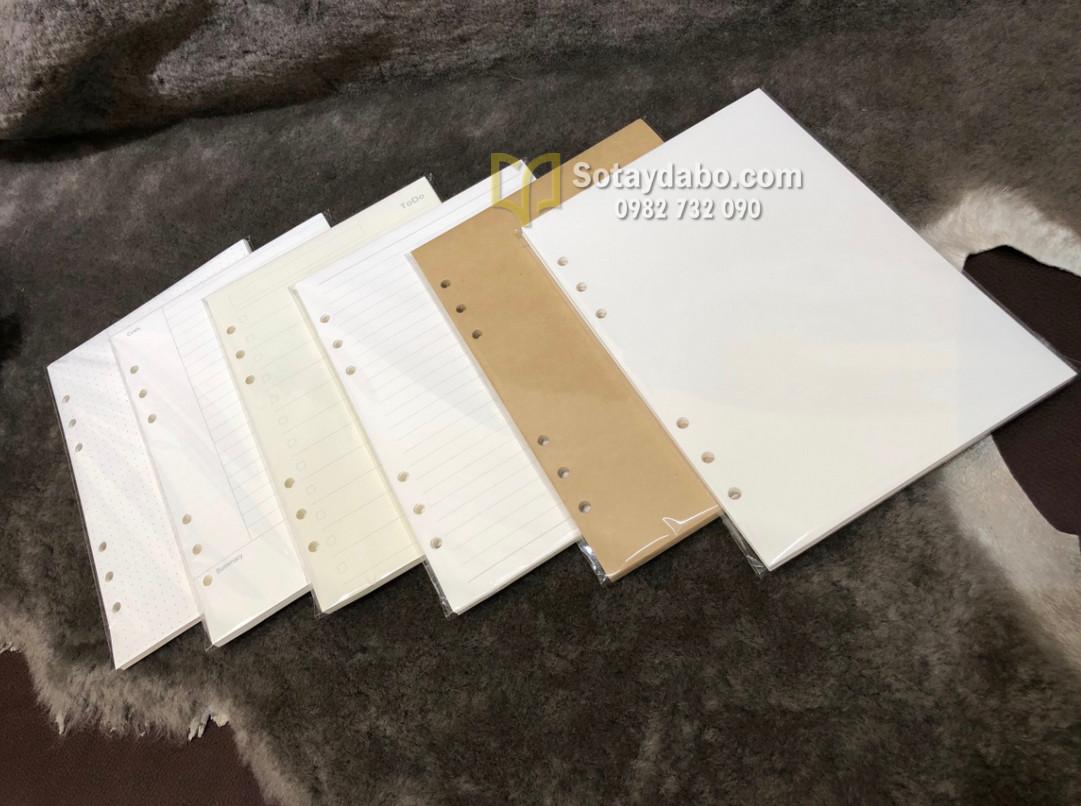 Lõi giấy thay thế sổ còng