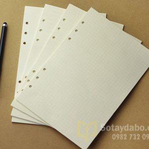 Lõi giấy thay thế sổ gáy còng size A5